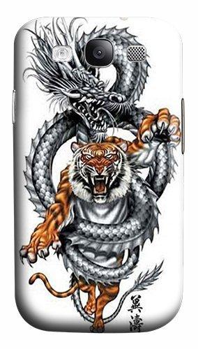 Diseño de León Dragon tatuaje de policarbonato plástico Carcasa ...