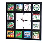 History of Mt. Dew Soda wall or desk clock