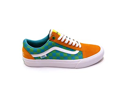 Homme Amazon Baskets Orange 46 Pro Skool Pour Orange Old Vans zqpXnPOp