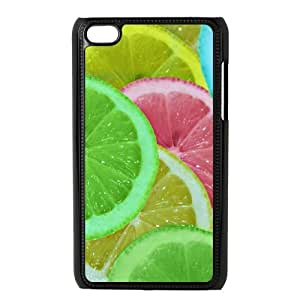 WUCG New Design Phone Case for iPod Touch 4, Customized Colorful Lemons Case