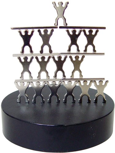 magnetic-sculptures-acrobats-showpiece