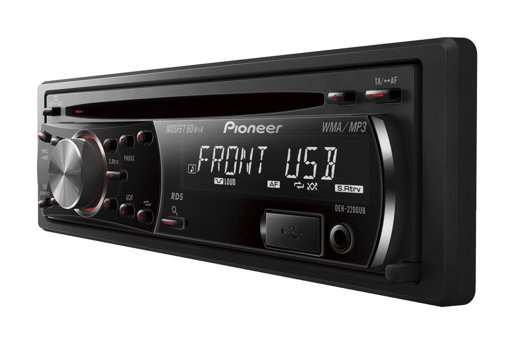 Pioneer deh 2200ub cd tuner with front usb aux in and 1rca pre out pioneer deh 2200ub cd tuner with front usb aux in and 1rca pre out red button illumination amazon electronics publicscrutiny Gallery