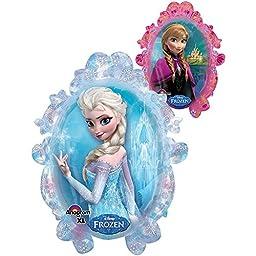 1 X Disney Frozen Double Sided Mirror 25\