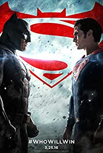 Batman v Superman: Dawn of Justice Movie Poster 11 x 17 Style F Unframed at Gotham City Store