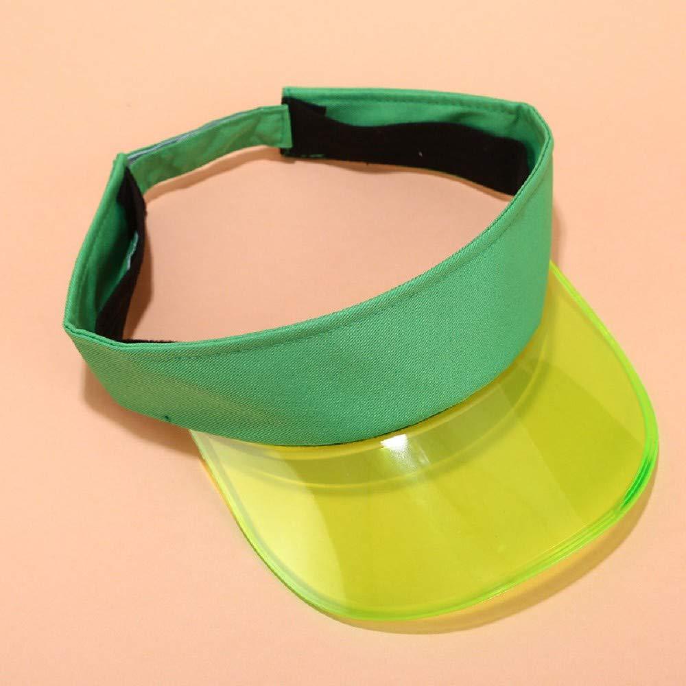 ZEZKT Damen Sonnenhut Sommerhut f/ür Frauen Anti-UV-Hat Hut im Freien justierbare Kappe Sommer-Sonnenschutz-Visier-leerer Zylinder