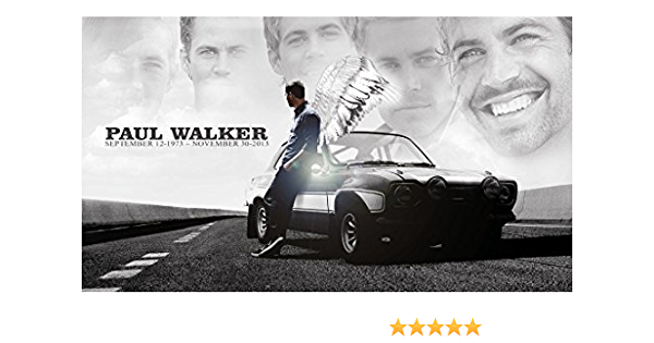 V0816 Paul Walker Portrait Actor Decor WALL PRINT POSTER UK