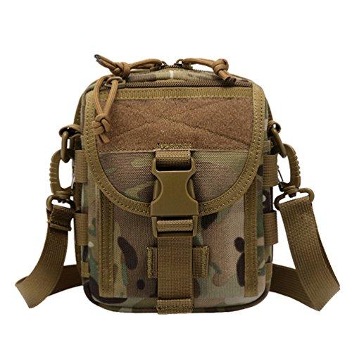 WanYang Paquetes de Camuflaje Mochila al Aire Libre de Moda Excursionismoc Rucksack Backpack Mochila Militar Táctico Bolsa Camuflaje B
