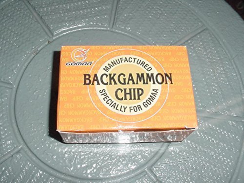 NEW BACKGAMMON CHIPS STONES REPLACEMENT PIECES by Backgammon Chip