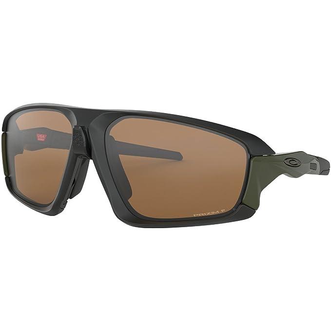 Oakley Field Jacket Gafas de sol, Negro, 64 para Hombre ...