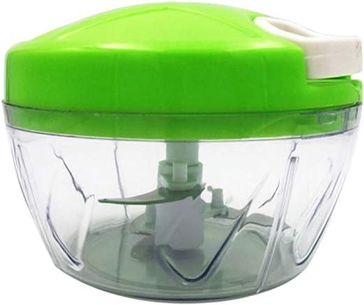 BESTONZON Robot de cocina manual Crank Chopper Blender para carne ...