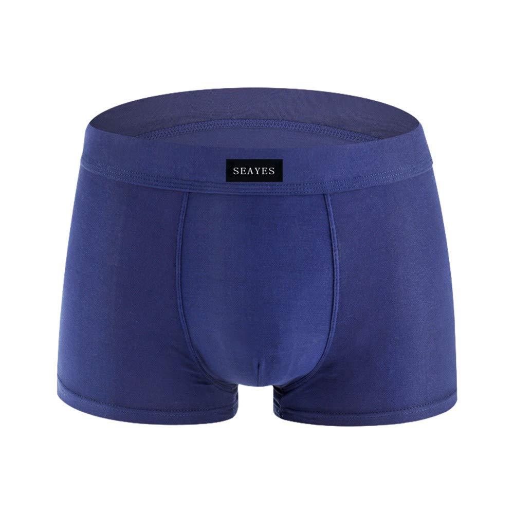 Corriee Underwear for Men 4 Pack Comfy Cotton Boxer Briefs Mens Soft Underpants Knickers Shorts