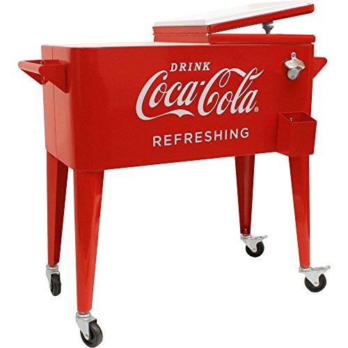 80-Quart Retro Coca-Cola Cooler34;Refreshing34;