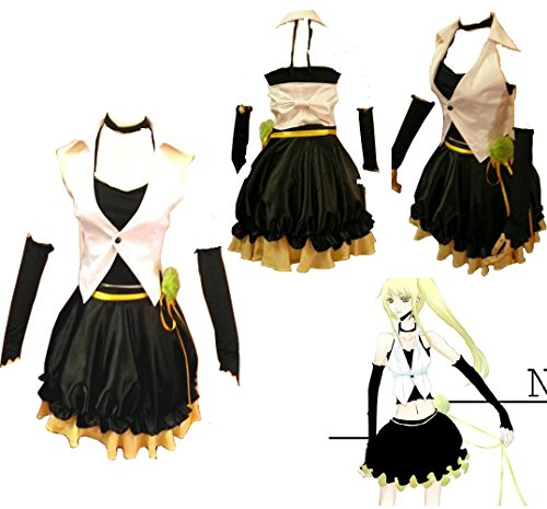 Vocaloid 2 Camellia Neru Akita Cosplay Costume + Wig