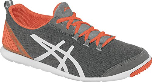 ASICS Women's Metrolyte? Heather Grey/Coral/White Sneaker 5.5 B (M)