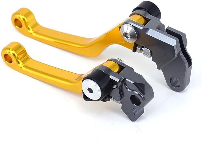 Jfgracing Billet Pivot Klappbare Kupplung Bremshebel Für Rm85 05 15 Rm125 Rmz250 04 08 Auto