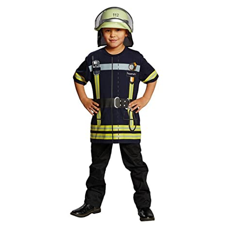 Rubies Bombero de la Camisa del Juego para los niños ...