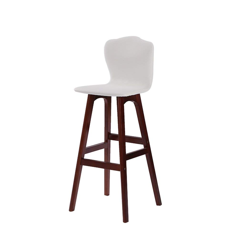 A JZX Chairs Stools, Backrest Bar High Solid Wood Chair,High End Atmosphere Chair Stool
