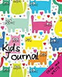 Kids Journal Draw and Write (Cat Journal for Girls)