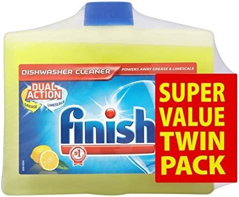 Finalizar Twin Pack Lavavajillas Limpiador de limón 2 x 250ml ...