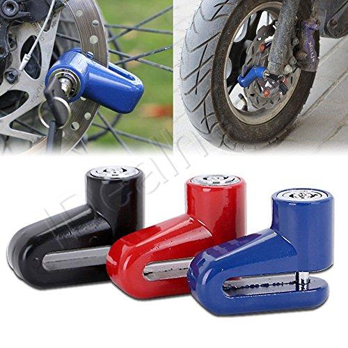 scooter Brake Disc Lock + 2 Keys Cycling MTB Bicycle Bike Security Padlock Alarm