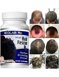 Natural Hair Loss Hair Growth Treatment - Hair Rescue Rx Men - Natural Hair Loss Supplement