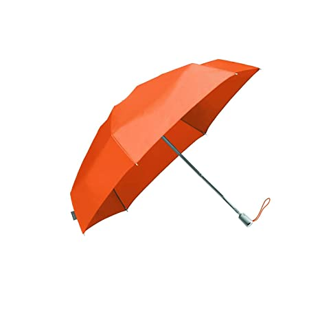 SAMSONITE ALU Drop - Foldable Umbrella Paraguas clásico, 23 cm, Naranja (Orange Ochre