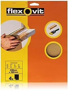 Flexovit - Hoja lija grano fino tamaño 150 blister