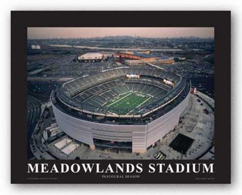 Bruce Teleky NY Jets at New Meadowland Stadium, Inaugural Season by Mike Smith - Aerial Views 8.5