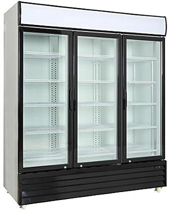 Commercial 3 Glass Door Merchandiser Upright Refrigerator Cooler