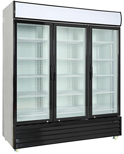 Door Display Fridge (Commercial 3 Glass Door Merchandiser Upright Refrigerator Cooler)