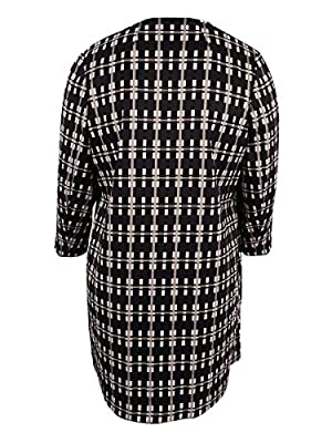 Alfani Women's Plus Size Plaid Topper Jacket