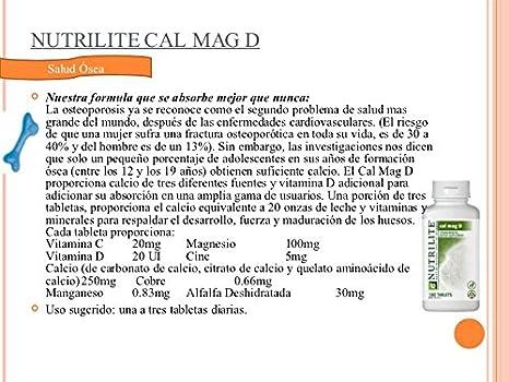 NUTRILITE Alfalfa Calcio Plus: Amazon.es: Hogar