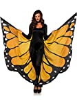 Best Leg Avenue Kids Halloween Costumes - Leg Avenue Women's Festival Monarch Butterfly Cape, Orange/Black Review