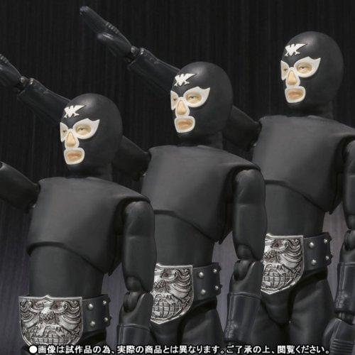 仮面ライダー S.H.Figuarts ショッカー戦闘員(黒)日本侵略!ショッカー戦闘員襲来セット B00I5HCPB2