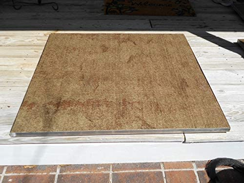 Amazon Com Deck Protect Fire Pit Pad Combo 36 X 36 Fireproof Deck Mat Garden Outdoor