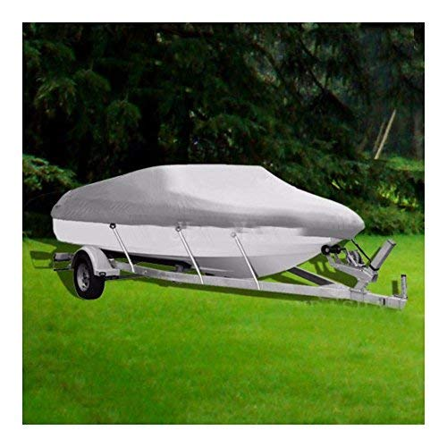 17 18 19 ft Trailerable Fishing Ski Bass Boat Cover Waterproof 95'' Beam ()