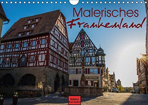 Malerisches Frankenland (Wandkalender 2017 DIN A4 quer): Die Schönheiten Frankens in 12 Fotografien (Monatskalender, 14 Seiten ) (CALVENDO Orte)