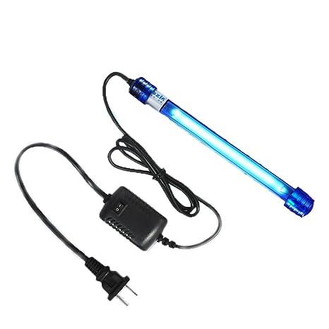 7 W 11 W IP68 sumergible luz UV Esterilizador para Acuario Agua Limpia vida lámpara de