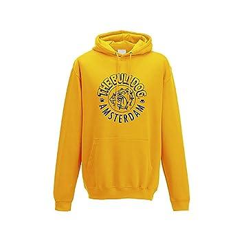 Sudadera Capucha Jersey algodón Bulldog Amsterdam Talla M Logo Amarilla: Amazon.es: Deportes y aire libre