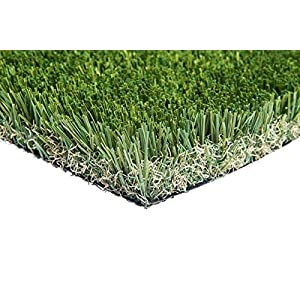 New 15′ Foot Roll Artificial Grass Turf Synthetic Fescue Pet Sale! Many Sizes! (Premium 15′ x 40′ = 600 Sq Ft)