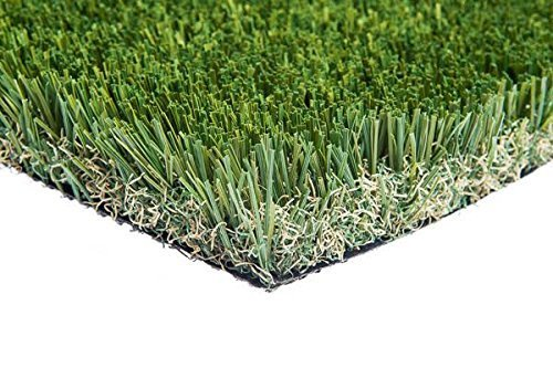 New 15' Foot Roll Artificial Grass Turf Synthetic Fescue Pet...