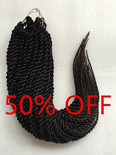 (50% OFF BEST LINA Havana Senegal Twist Crochet Braids 22