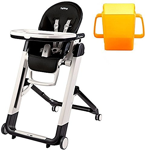 Peg Perego Siesta Highchair, Licorice with Juice Holder Bund