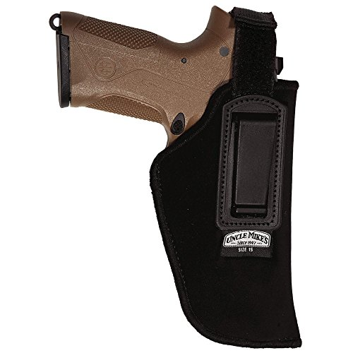 Uncle Mike's Kodra Nylon Inside-The-Pant Holster with Retention Strap (Black, Size 15,...