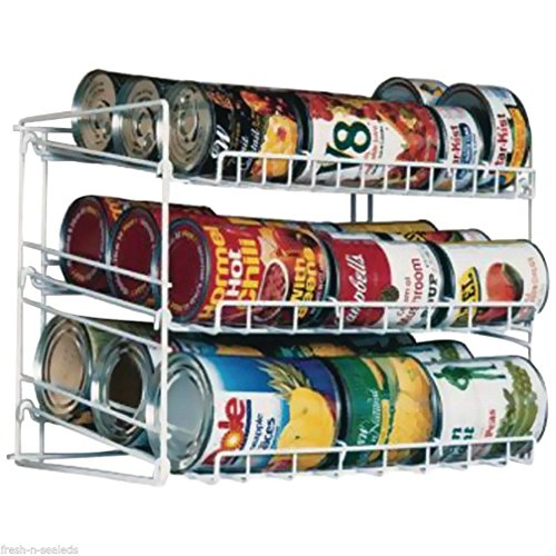 Canned Food Can Rack Kitchen Cabinet Cupboard Pantry Storage Organizer Holder from GSG Home Series