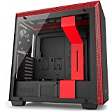 NZXT H700i Mid-Tower Computer Case Black/Red CA-H700W-BR