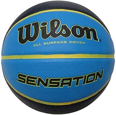 Wilson WTB9118XB0702 Pelota de Baloncesto Sensation Caucho ...