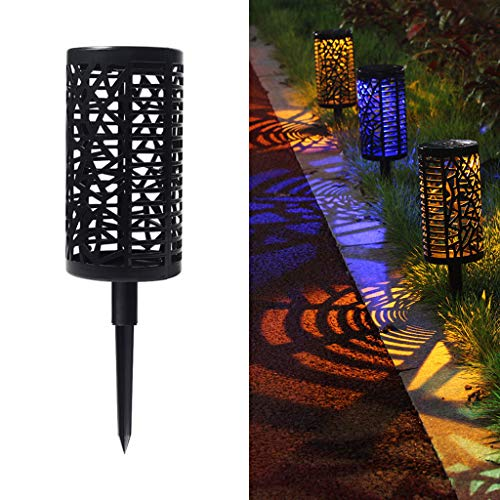 - Gotian Solar Hollow Lawn Light Outdoor Waterproof Colorful Garden Decoration, Charged by The Sun, The Lights Automatically Come on at Dusk