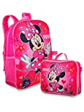 Minnie Mouse Girl's 16' Backpack W/Detachable Lunch Box