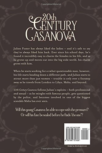 20th Century Casanova: C G Gibbs: 9781546721826: Amazon com: Books